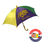 "14"" MARDI GRAS UMBRELLA"